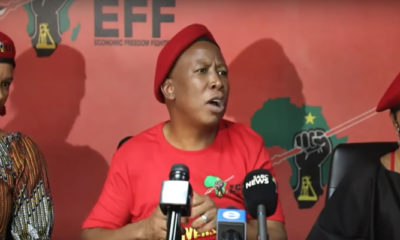 Julius Malema On Xenophobic Attacks on Nigerians in South Africa