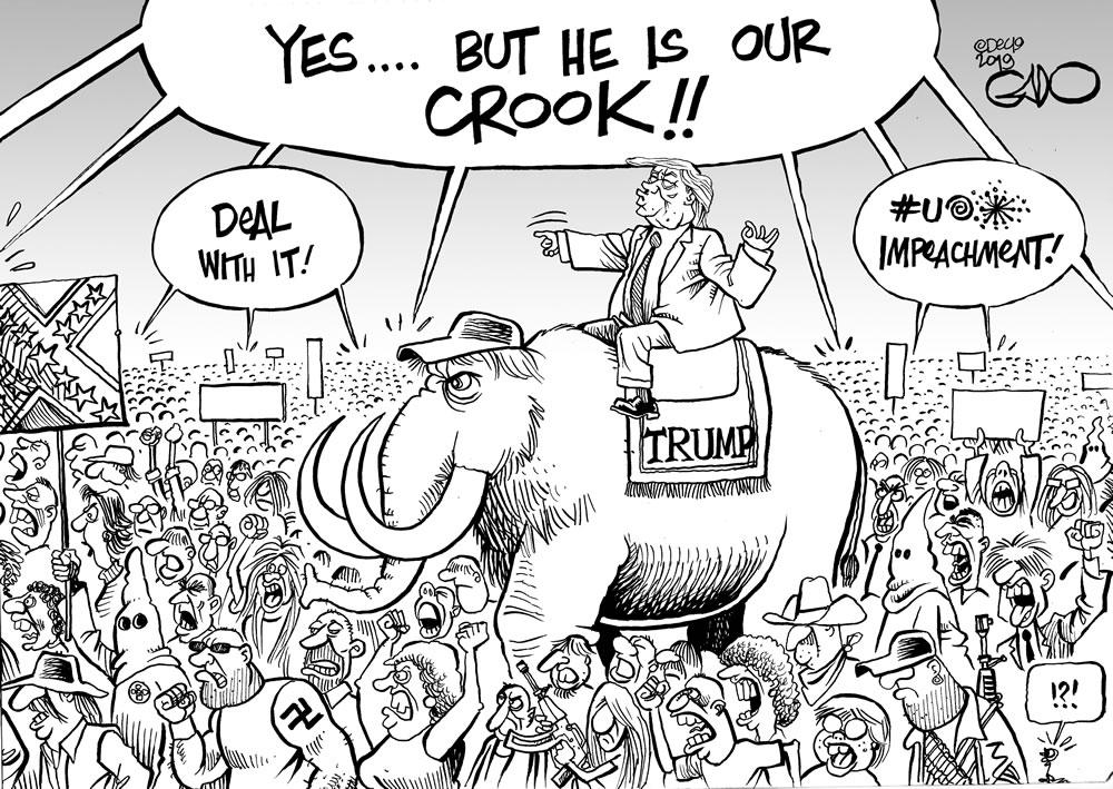 Crooked Trump