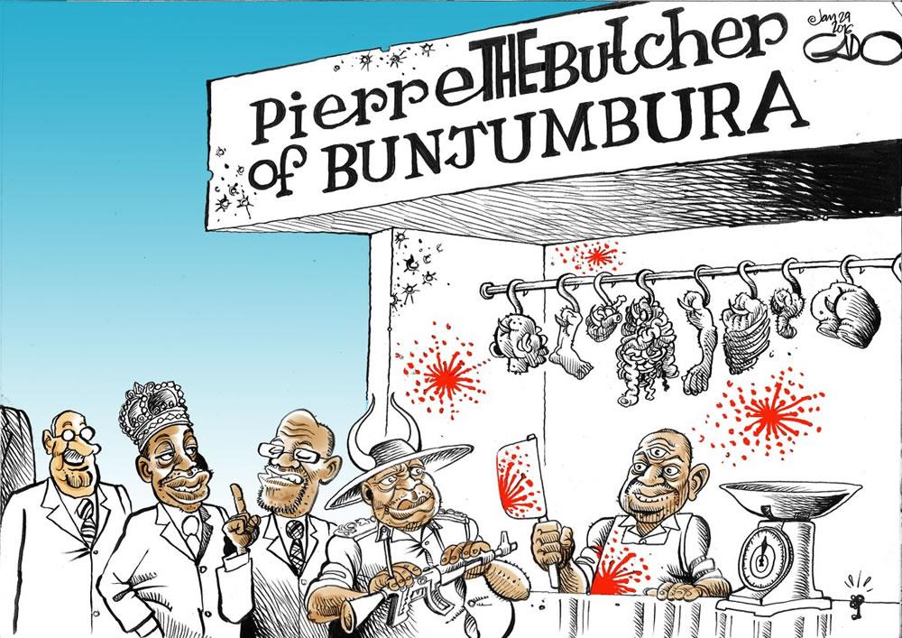 Remembering the Butcher of Bunjumbura!