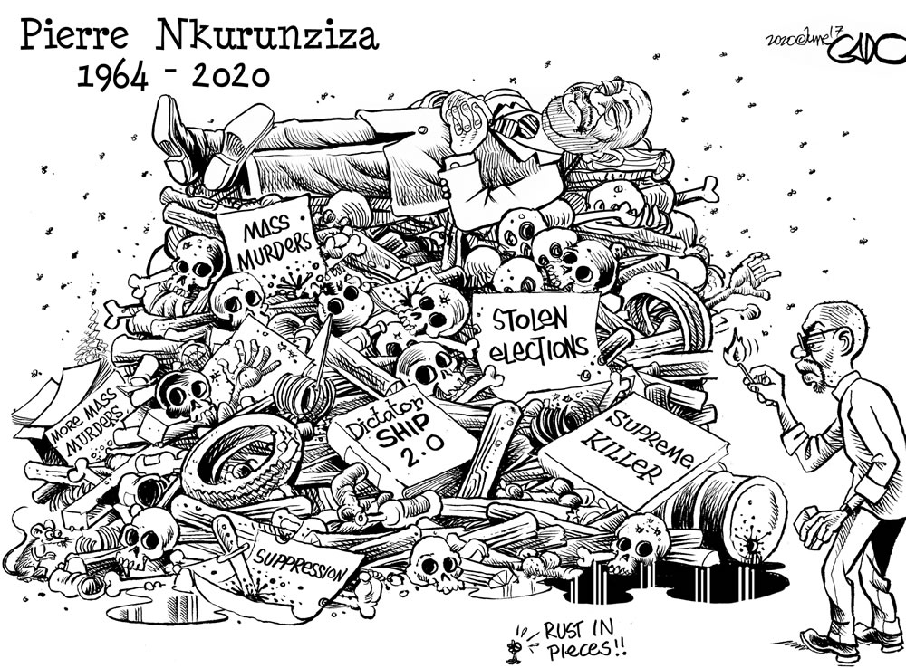 Rust In Pieces Pierre Nkurunziza