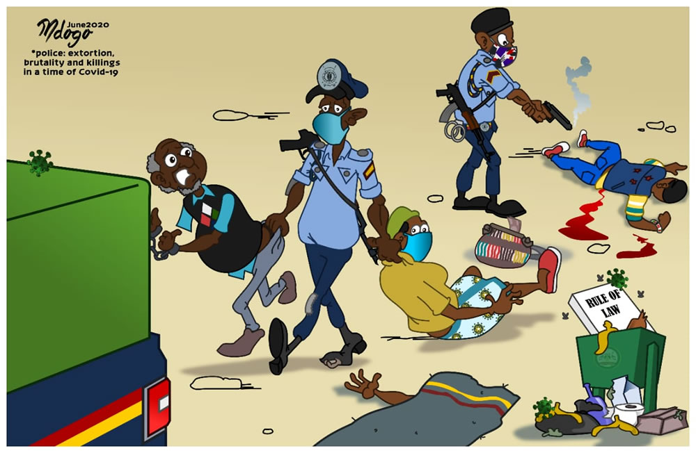 Police: Extortion, Brutality and Killings in a Time of COVID-19