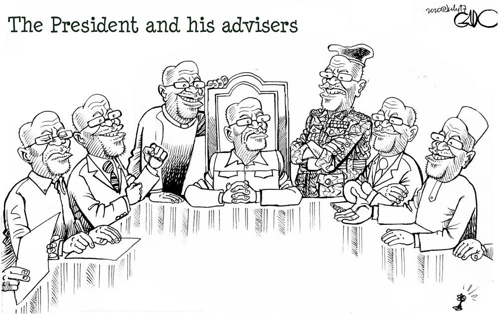 Magufuli and His Advisers
