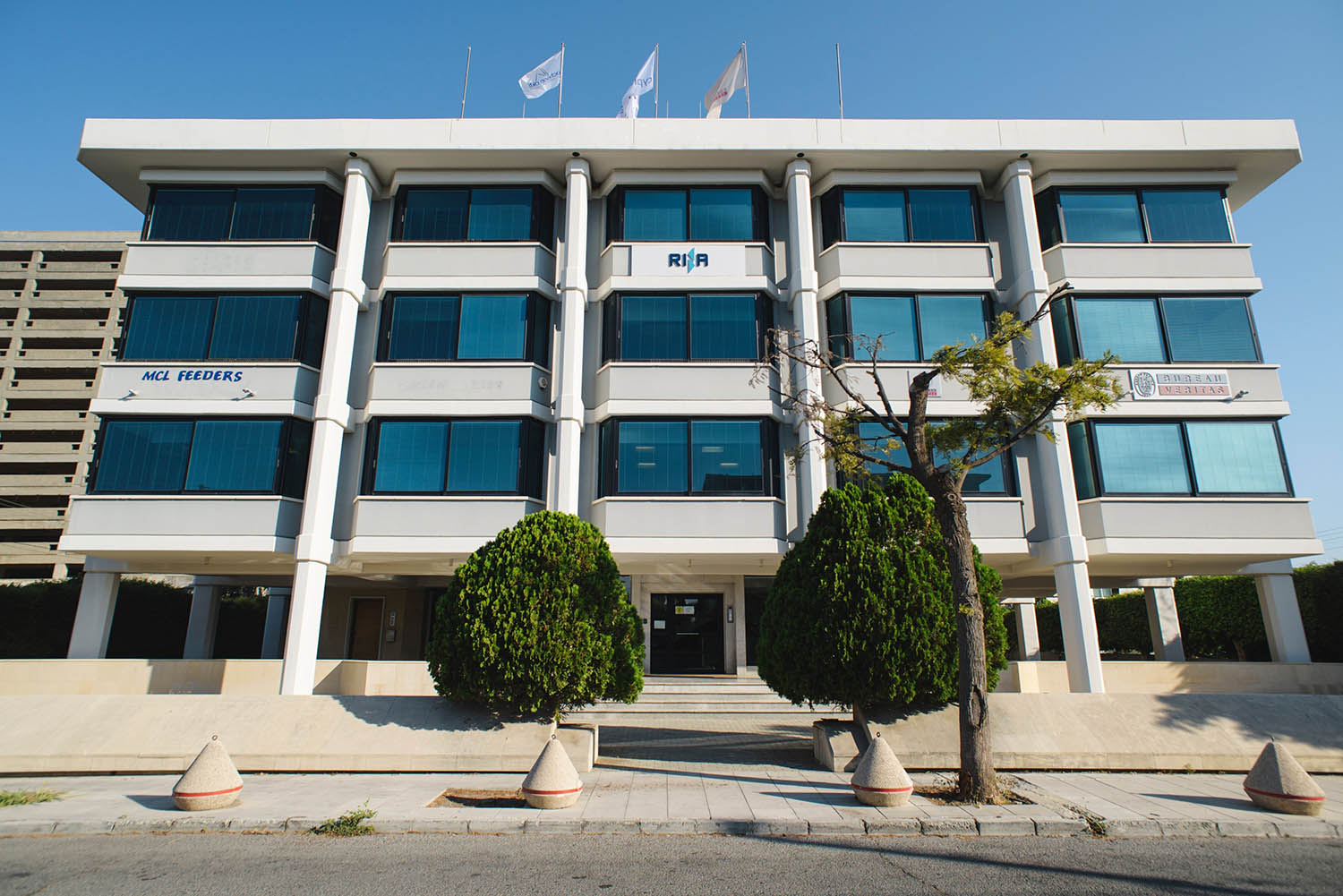 The headquarters of Charalambos Manoli's ship management company, Acheon Akti, in Limassol, Cyprus. Credit: OCCRP