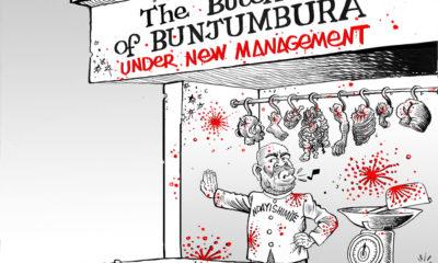 President of Burundi Ndayishimiye