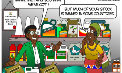 Banned Pesticides on Agrovet Shelves
