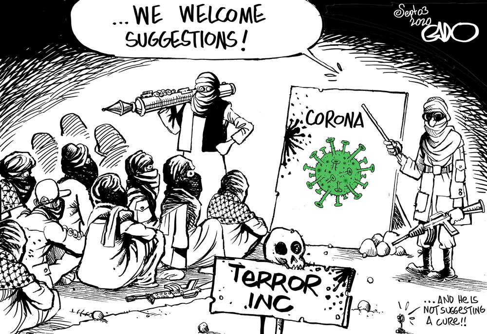 Terrorists and COVID-19