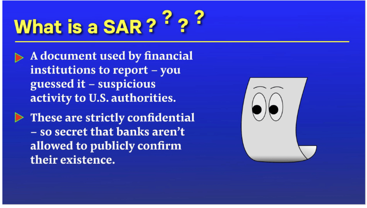 What is a SAR?