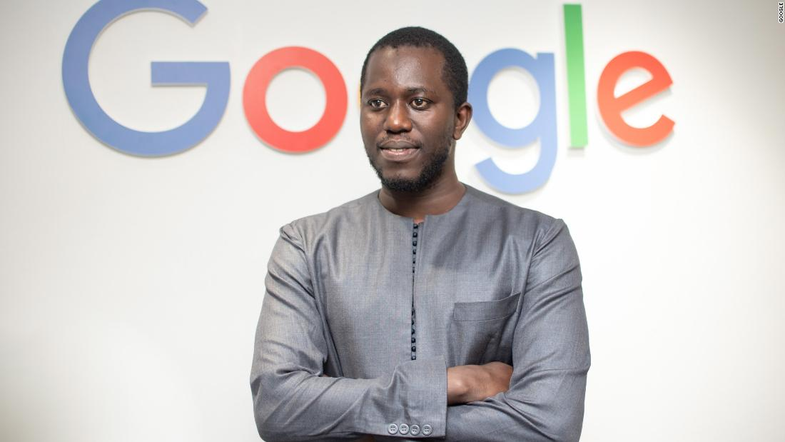 Moustapha Cisse, Africa team lead at Google AI