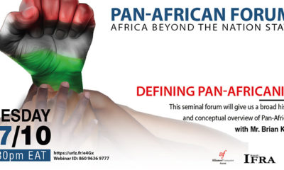 Pan Africanism: Going Beyond the Nation States