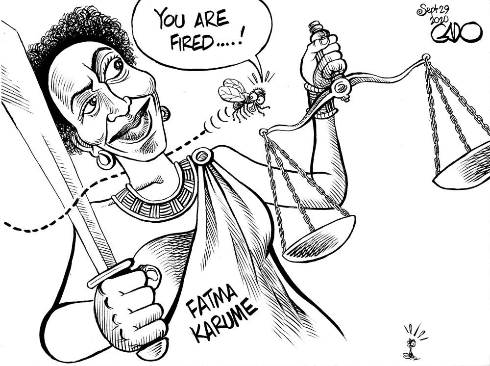 Fatma Karume in Tanzania