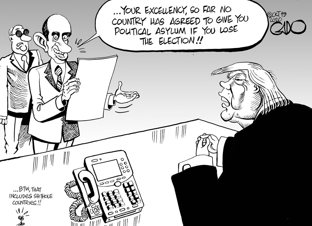 Trump Seeking Political Asylum!