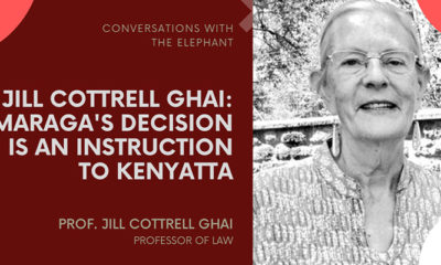 Jill Cottrell Ghai: Maraga's Decision Is an Instruction to Kenyatta