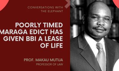 Makau Mutua: Poorly Timed Maraga Edict Has Given BBI a Lease of Life