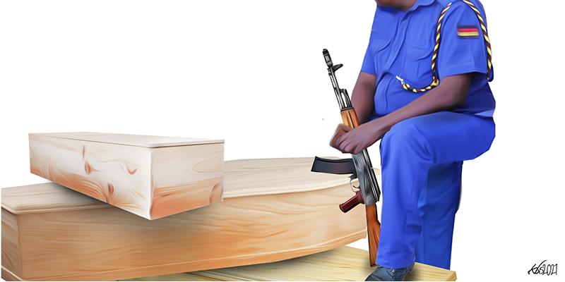 "Shot After Curfew – the Death of ""Vaite"""