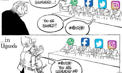 Trump, Museveni and Social Media