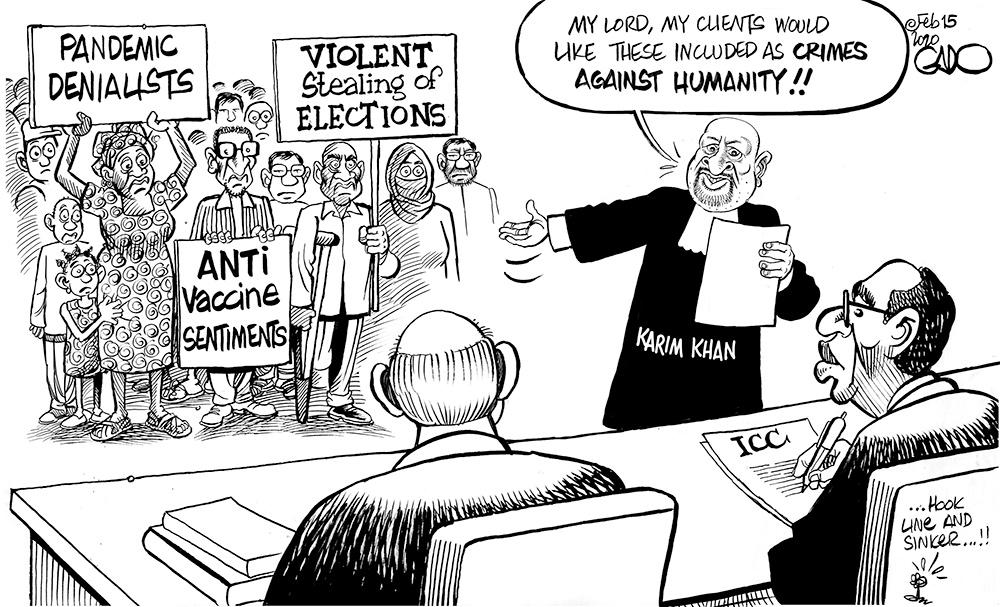Karim Khan Takes Over as New ICC Chief Prosecutor!