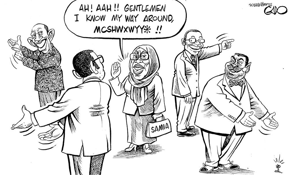 Madame Samia Takes Office in Tanzania!