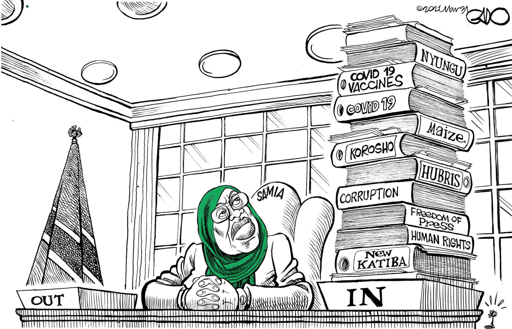 President Samia Takes Office!