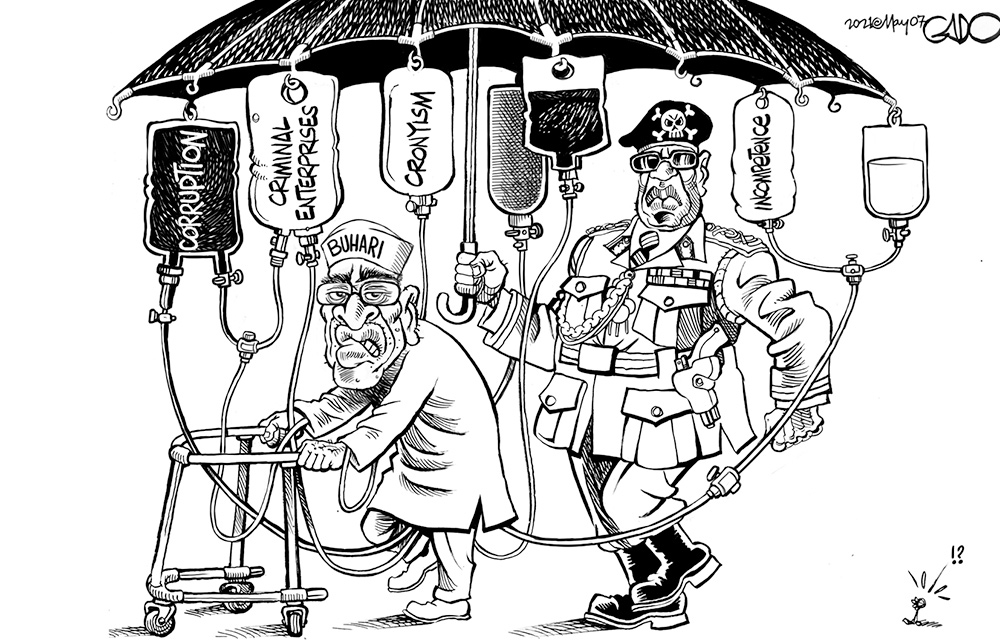 President Buhari in Nigeria!