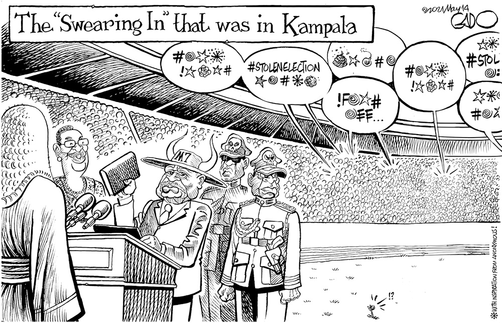 """The """"Swearing in"""" That Was, in Kampala"""
