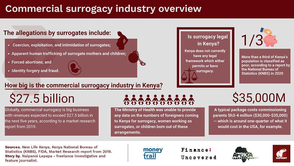 Commercial surrogacy industry overview