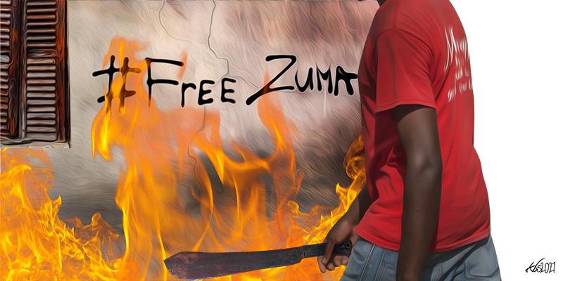The Protests Are Bigger Than Zuma