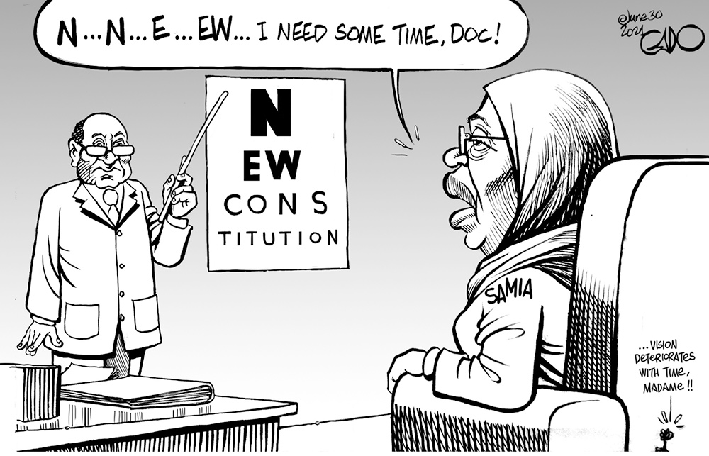 President Samia of Tanzania and the Calls for the New Constitution