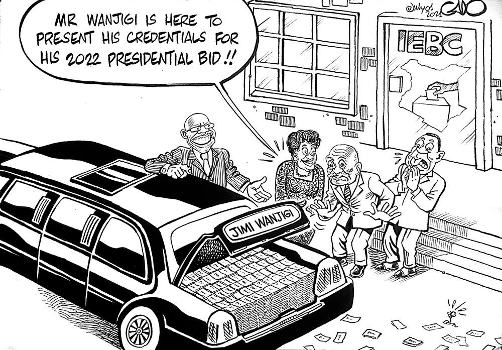 Jimi Wanjigi's 2022 Presidential Bid!