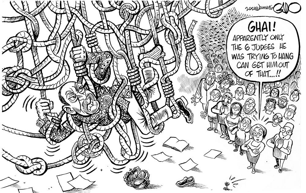 Uhuru and the Judiciary