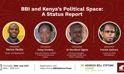BBI and Kenya's Political Space: A Status Report