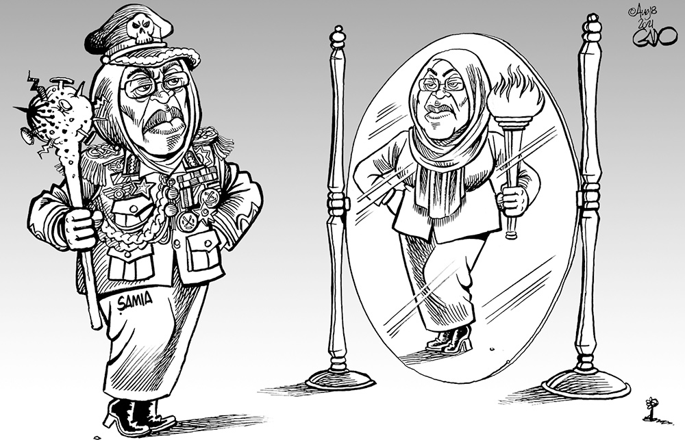 Dictatoress Samia Suluhu Hassan