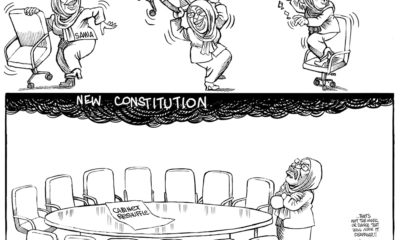 Samia's Musical Chairs and the New Constitution Cloud!