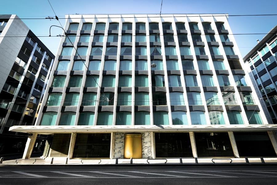 Union Bancaire Privée offices in Geneva, Switzerland. Image: Raymond PIAT/Gamma-Rapho via Getty Images