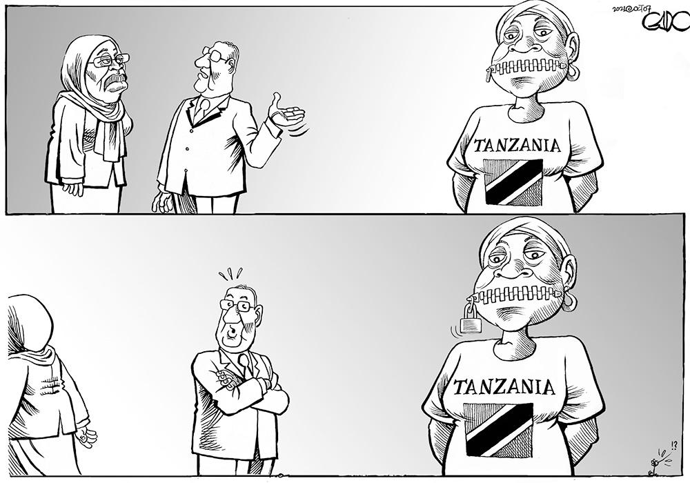 President Samia and Free Speech in Tanzania!