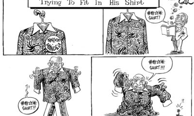 From Mbeki to Zuma to Ramaphosa, South African Presidents Trying to Fit Into Mandela's Shirt!